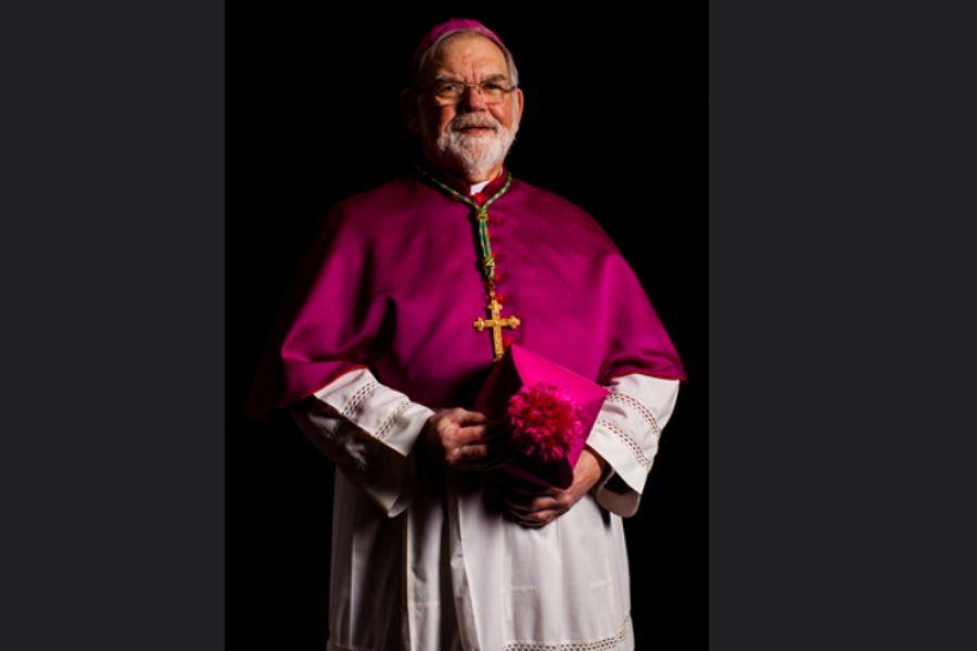 Bishop George A. Sheltz.