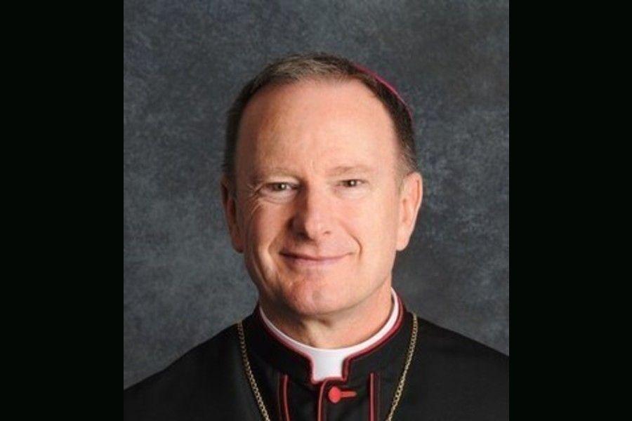 Bishop Michael Barber of Oakland