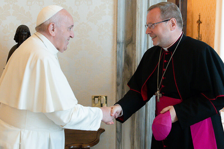 Pope Francis Receives Bishop Bätzing, Reportedly Encourages German Synodal Path