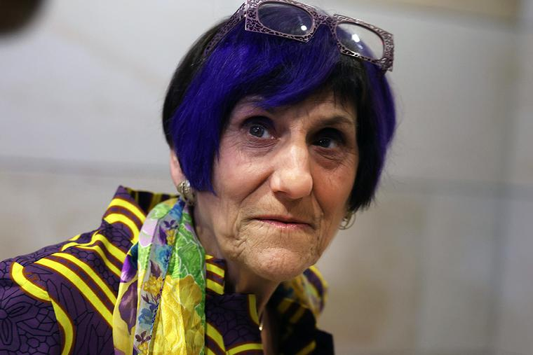 """Rep. Rosa DeLauro (D-CT), the first-listed signer of the """"Declaration on Principles"""" that challenged the U.S. Bishops on """"Eucharistic coherence,"""" speaks to reporters in the Capitol Visitor Center on June 15, 2021, in Washington, DC."""