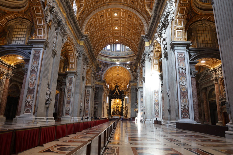 Since the rules came into force on March 22, the number of Masses celebrated each morning, often by priests who work as officials in the Vatican, plummeted from as many as 75 to less than 10.