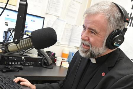 Jesuit Father Robert McTeigue