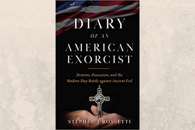Book cover of 'Diary of an Exorcist' by Monsignor Stephen Rosetti.