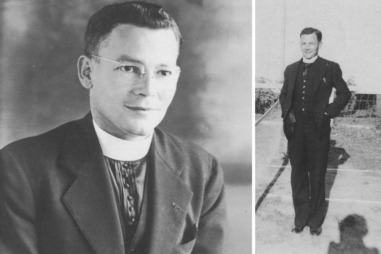 Father Joseph Lafleur exhibited heroic courage as an Army chaplain.