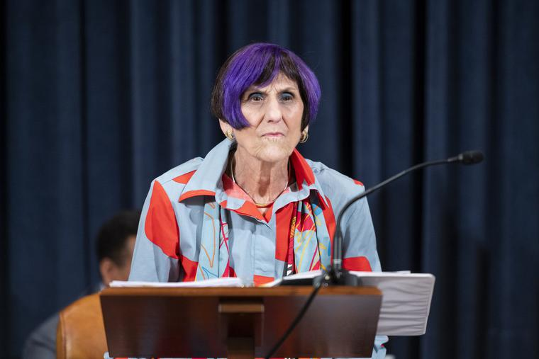 Chairwoman Rosa DeLauro, D-Conn., conducts the House Appropriations Committee markup of the FY2022 Financial Services and General Government appropriation bill, FY2022 Legislative Branch appropriation bill, and Subcommittee Allocations on Tuesday, June 29, 2021.
