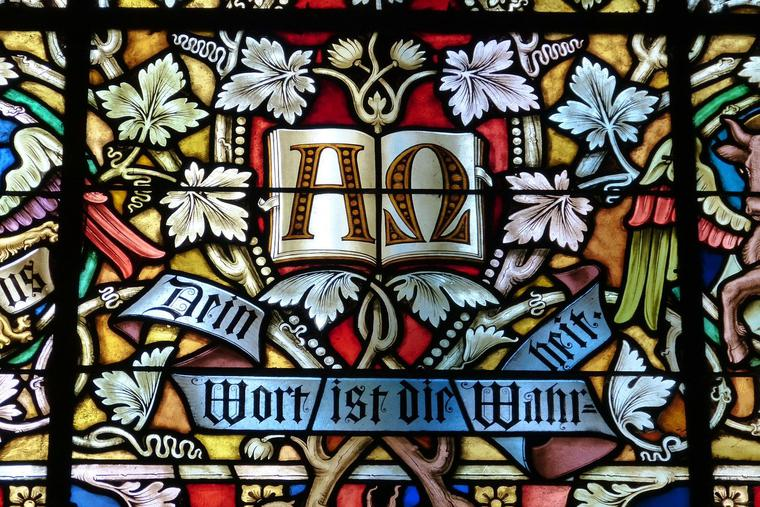 Church Stainglass Photo by Harald Matern from Pixabay