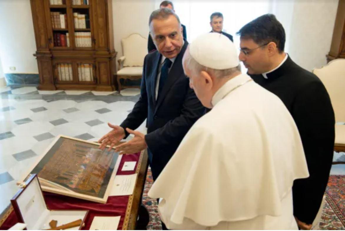 Iraqi Prime Minister Vatican Visit July 2 2021 Vatican Media