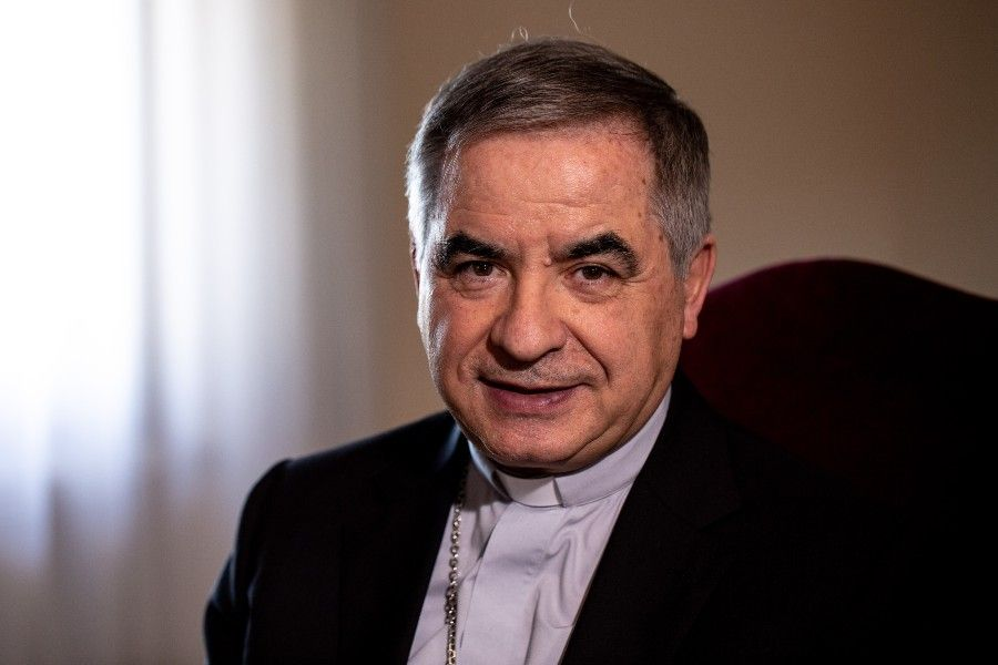 Giovanni Angelo Becciu, former prefect of the Congregation for the Causes of Saints, pictured June 27, 2019.