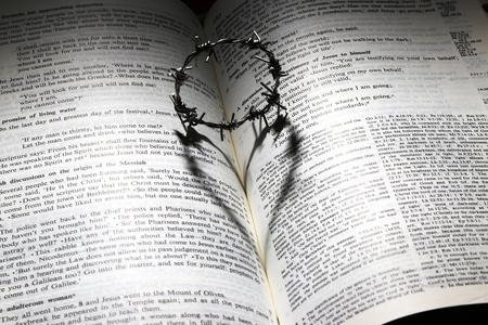 Miniature Crown of Thorns on Bible Photo by James Chan from Pixabay