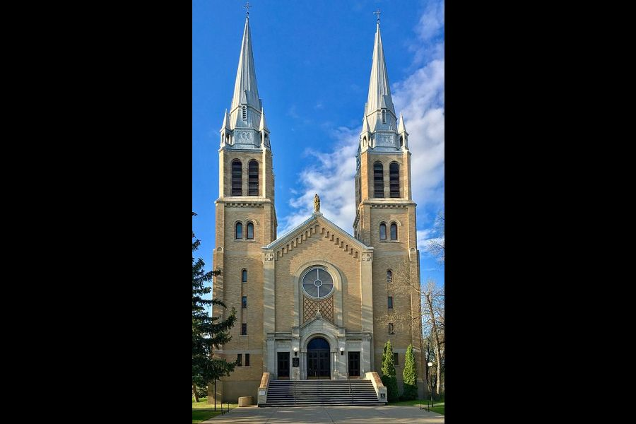 Holy Rosary Cathedral is located in Regina, Canada.