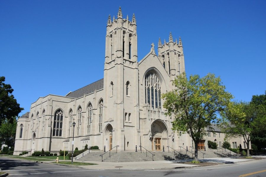 Sacred Heart Cathedral in Rochester, N.Y.
