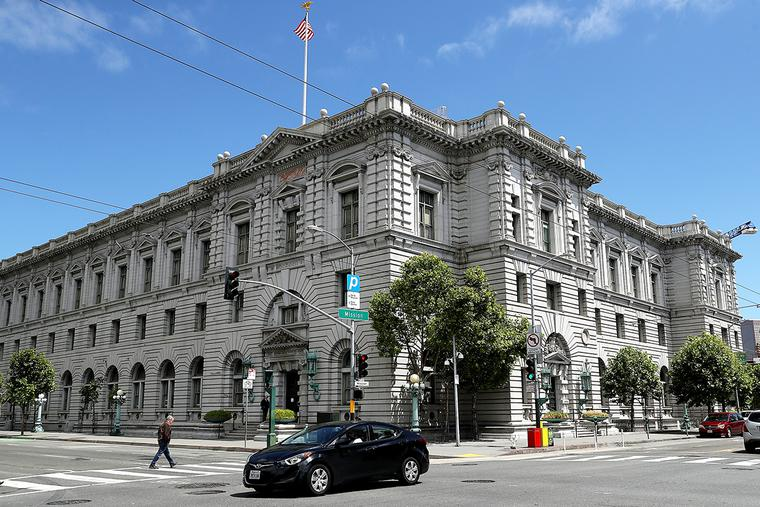A view of the Ninth U.S. Circuit Court of Appeals on June 12, 2017, in San Francisco, California. Two students who were expelled from Fuller Theological Seminary for violating rules against same-sex unions have asked the Ninth Circuit to deny the seminary access to the Title IX exemption.