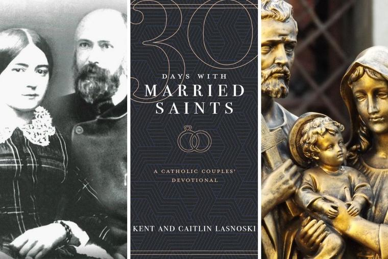 '30 Days With Married Saints' offers lessons from holy marriages, including Sts. Louis and Zélie Martin and St. Joseph and Mary.