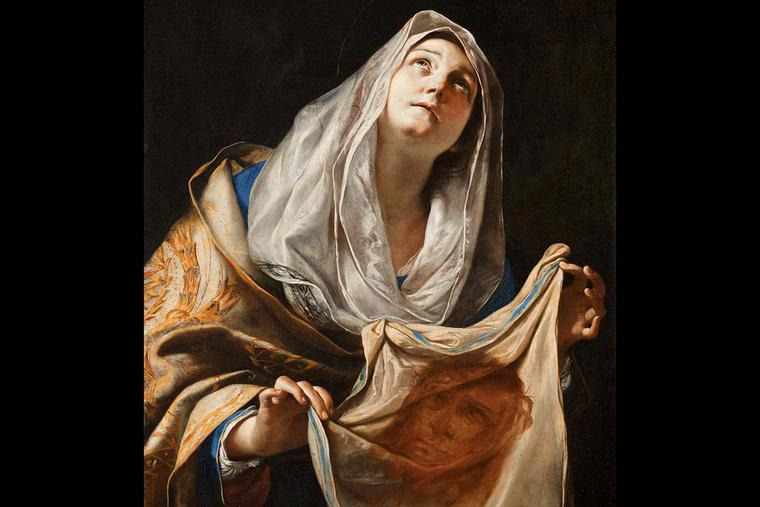 "Mattia Preti, ""Saint Veronica and the Veil,"" ca. 1655"