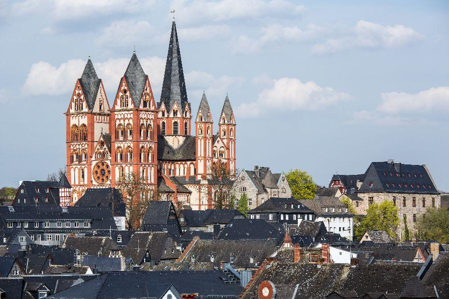 The Catholic Cathedral of Limburg in Hesse, Germany.