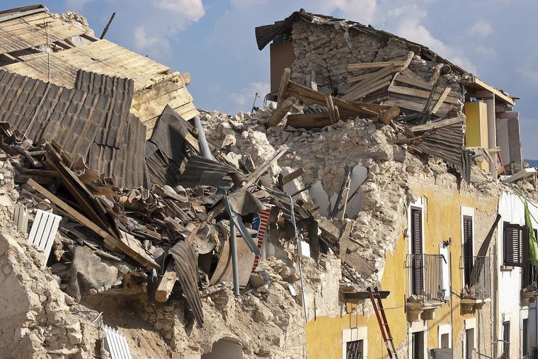 Earthquake Photo