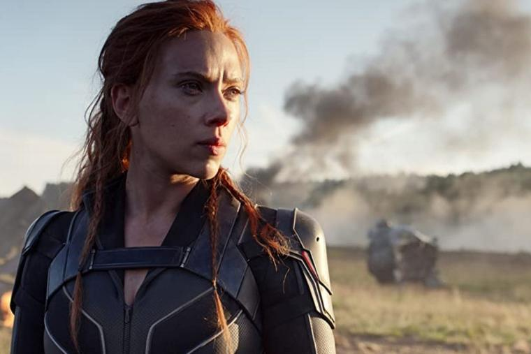 Scarlett Johansson stars in the latest Marvel movie.