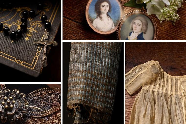 'Seton Family Treasures' include a variety of familial heirlooms.