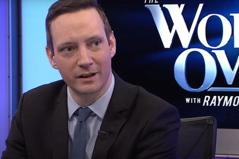 Tristan Azbej speaks with EWTN anchor Raymond Arroyo on 'The World Over' Feb. 6, 2020.