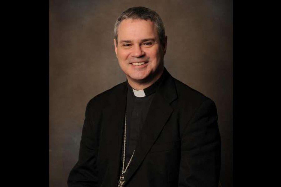 Archbishop Peter Comensoli.