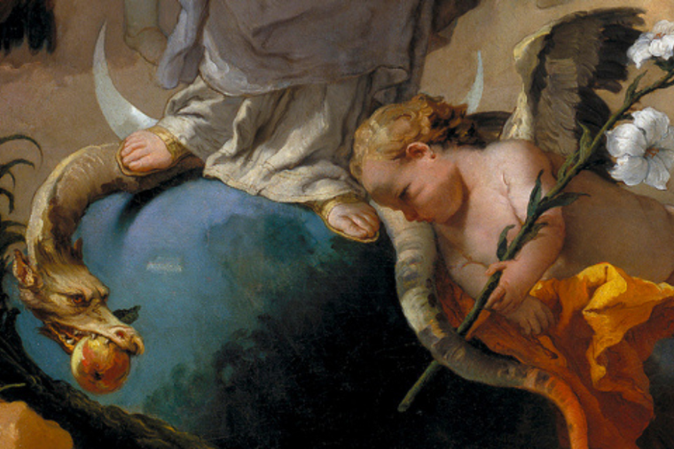 The Immaculate Conception by Giovanni Battista Tiepolo.