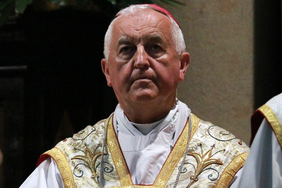 Bishop Jan Szkodoń, Auxiliary Bishop of Kraków, Poland.