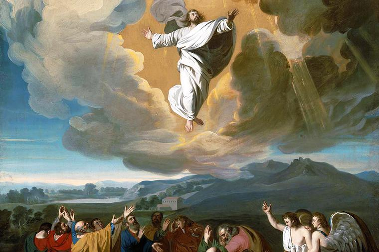 "John Singleton Copley, ""The Ascension,"" 1775"