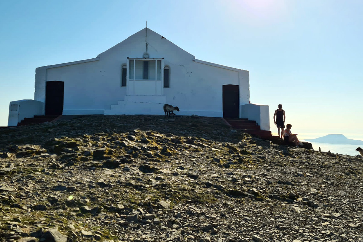 The Oratory on the summit of Croagh Patrick