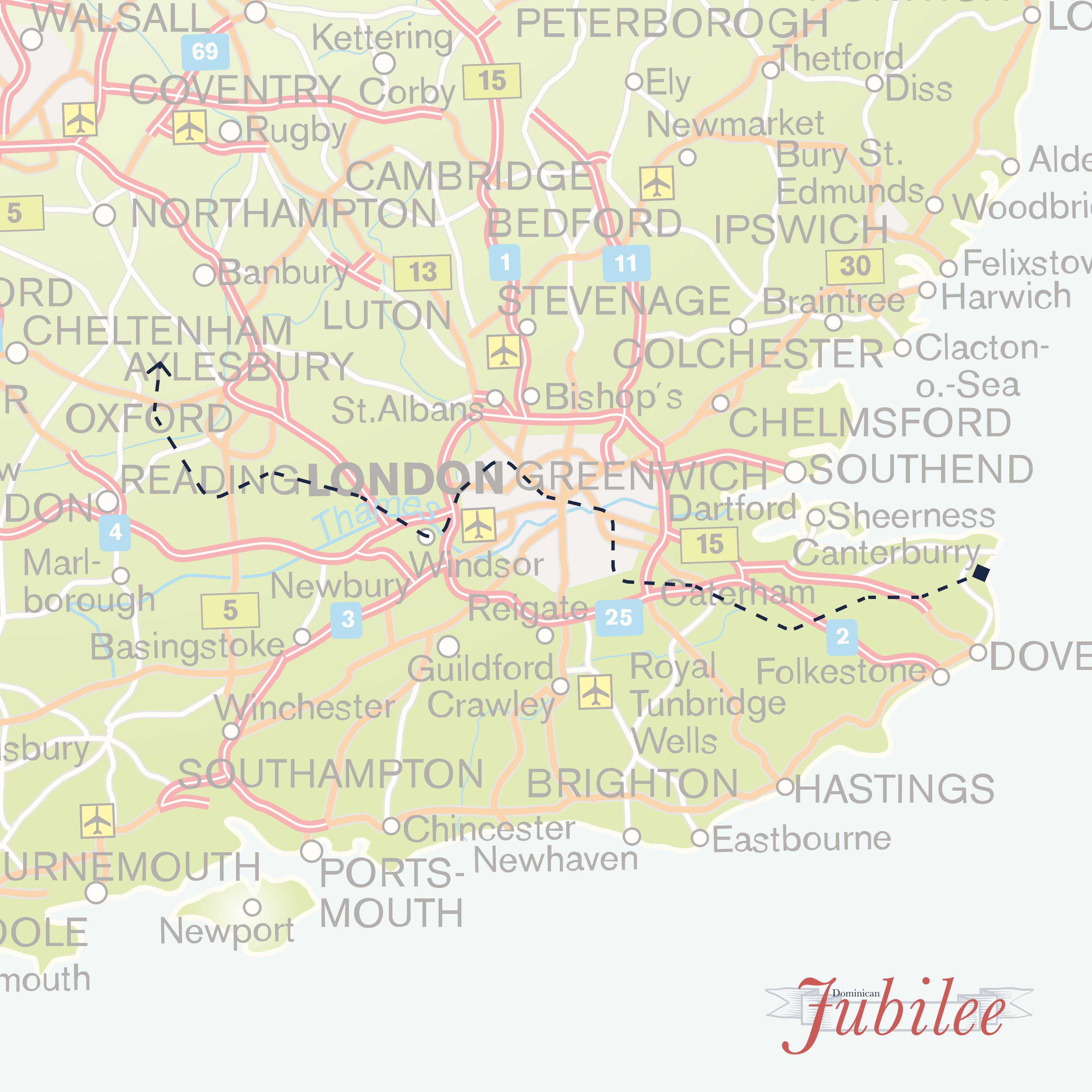 Dominicans Jubilee Pilgrimage 2021