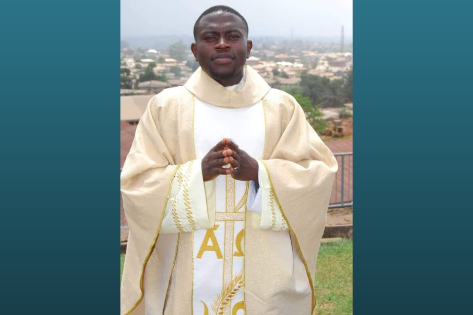 Father Stephen Ewane Shadze of the Archdiocese of Bamenda