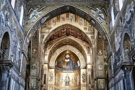 The Cathedral of Monreale in Palermo, Sicily