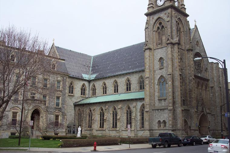 St. Joseph Cathedral is located in Buffalo, New York.