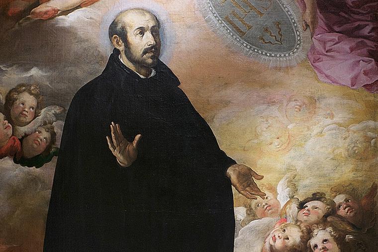 "Francisco Herrera (attr.), ""Glorification of St. Ignatius of Loyola"""