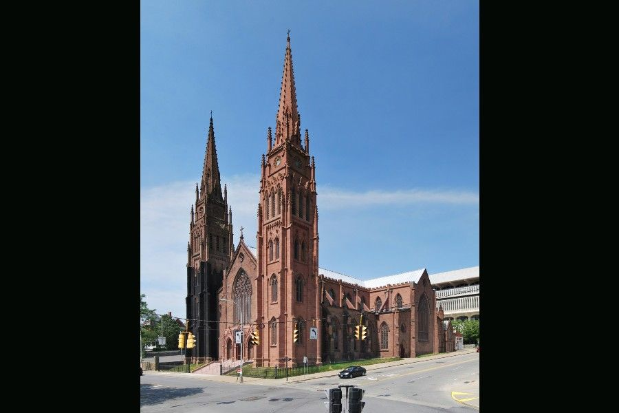 The Cathedral of the Immaculate Conception is located in Albany, New York.