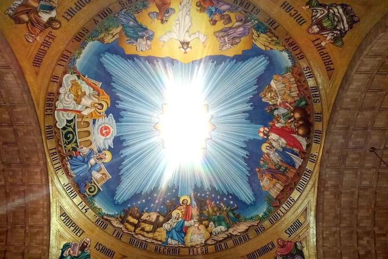 Will a scheduled Mass be reinstated at the national shrine?
