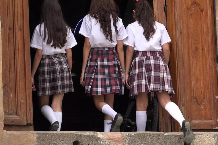 In 2018, several parents of students at the school where the teacher taught complained to the archbishop about the teacher's way of life.