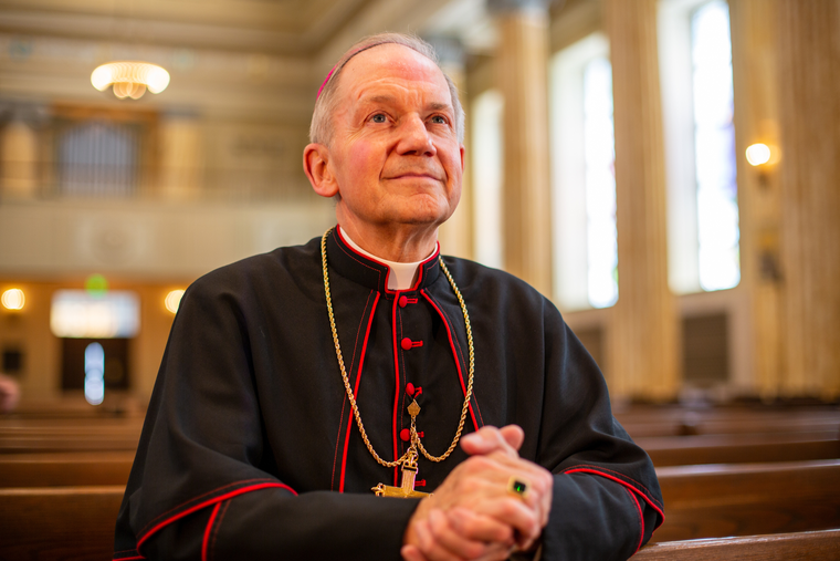 Bishop Thomas Paprocki of Springfield, Illinois, has issued dispensations for two churches in his diocese, allowing them to continue to celebrate the traditional Latin Mass.