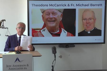 New Sex-Abuse Lawsuit Names Theodore McCarrick, Father Michael Barrett