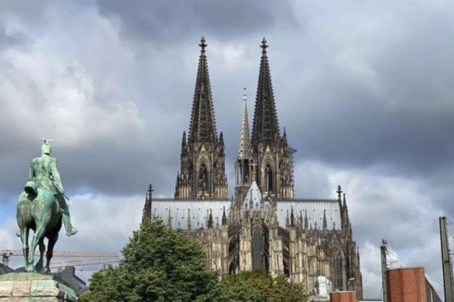 Cologne Cathedral in North Rhine-Westphalia, Germany.