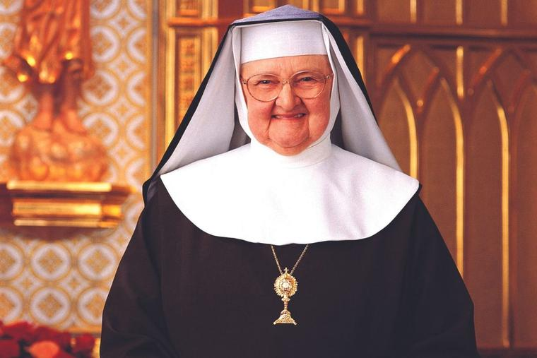 'A soul that trusts God is invincible,' said the EWTN foundress.