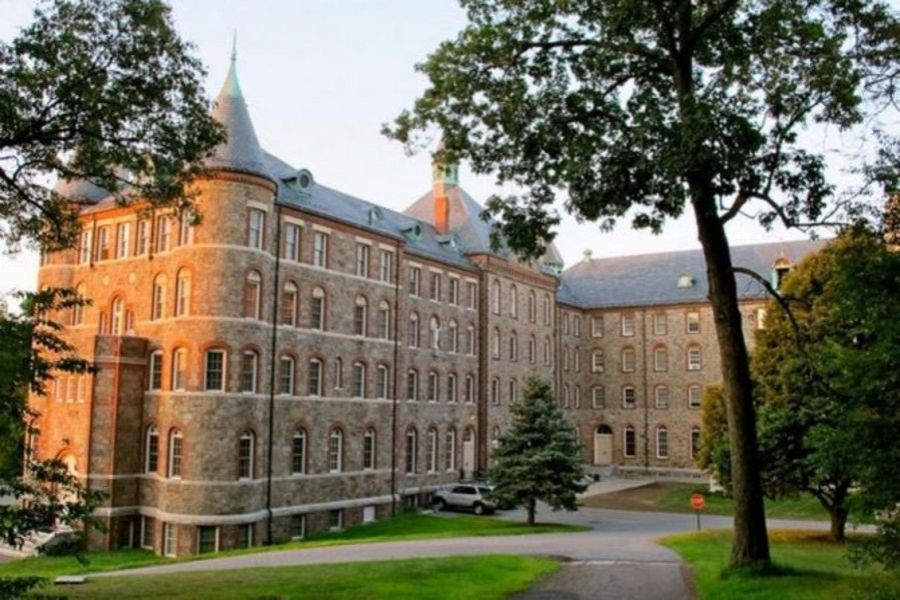 Students are expected to be vaccinated at St. John's Seminary in Boston.
