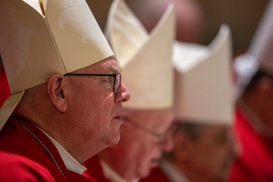 Cardinal Timothy Dolan of New York is the chair of the USCCB religious liberty committee.