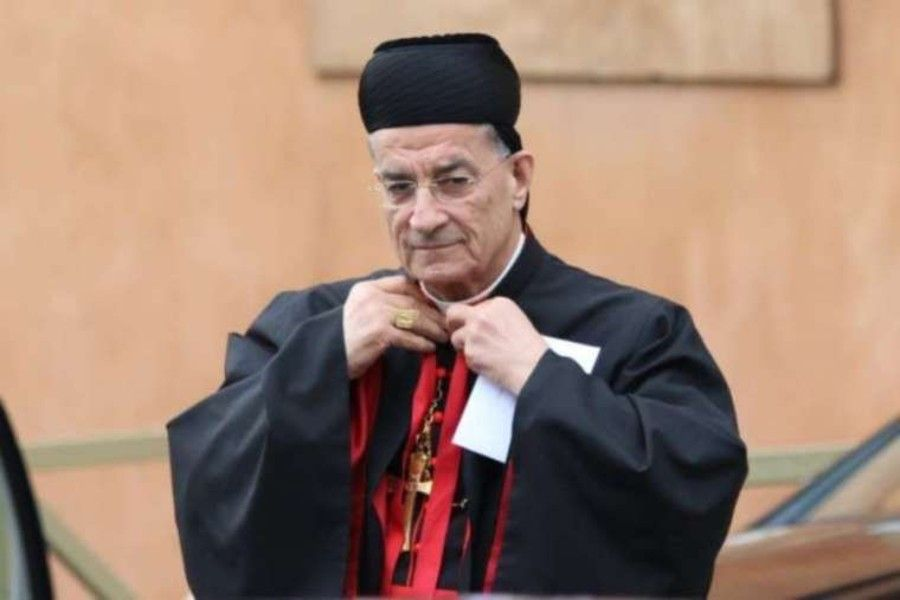 Bechara Boutros Cardinal Rai, Maronite Patriarch of Antioch, at the Vatican March 5, 2013.