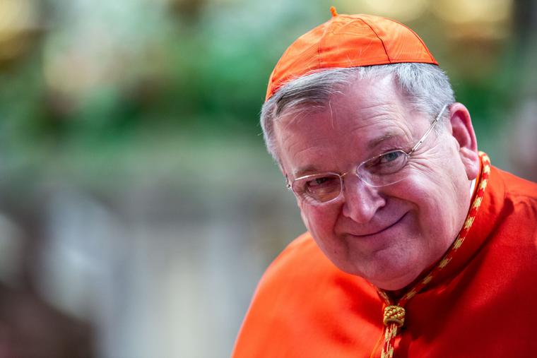 Cardinal Raymond Leo Burke during the Solemnity of Saints Peter and Paul in St. Peter's Basilica in Vatican City, June 29, 2019.