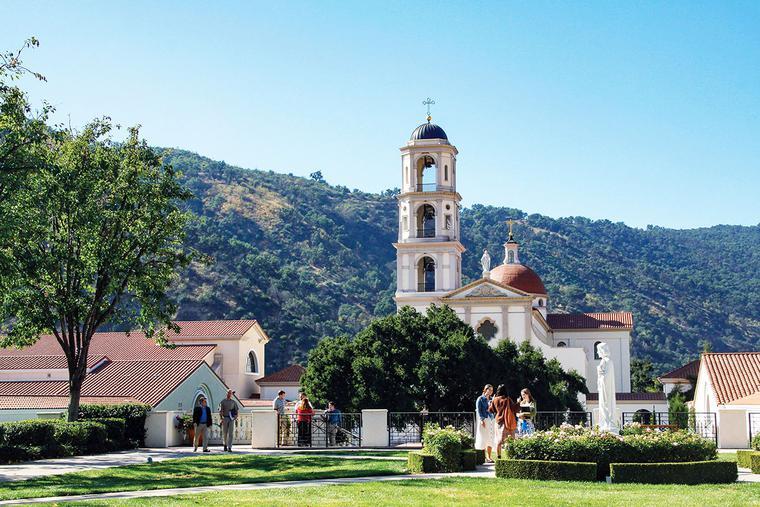 The campus of Thomas Aquinas College in Santa Paula, California