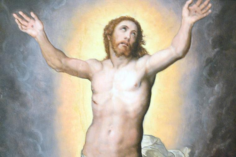 """Marco Pino, """"The Resurrection of Christ,"""" bef. 1587"""