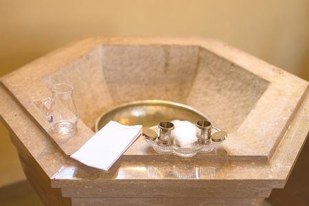 Stone Baptismal Photo by biglinker from Pixabay