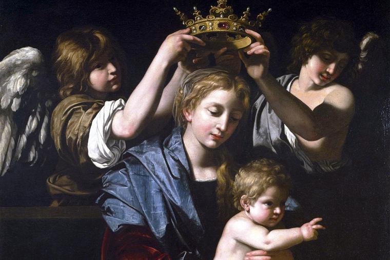 "Bartolomeo Cavarozzi, ""The Virgin and Child With Angels,"" ca. 1620"
