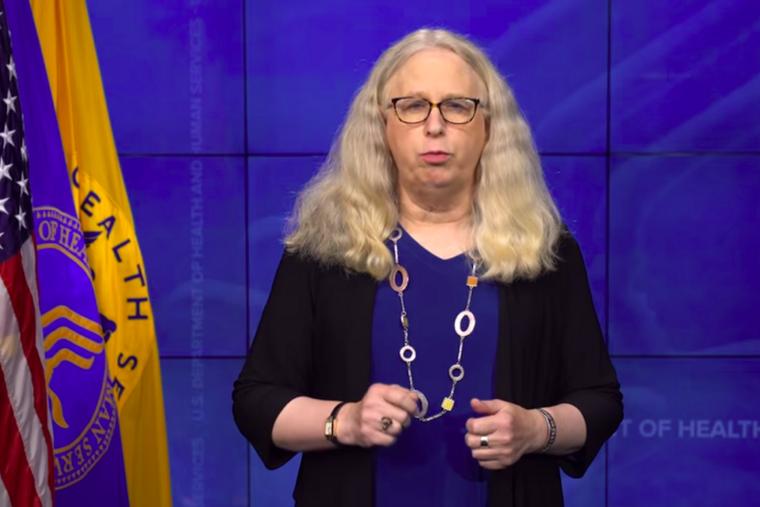 Assistant Health Secretary Rachel Levine shares a message from President Joe Biden in a back-to-school message promoting transgenderism.