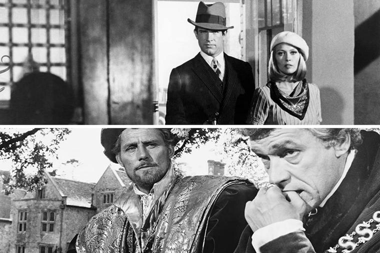 'Bonnie and Clyde' and 'A Man for All Seasons' portray crime and holiness, respectively. The year the bank-robber drama was released, the true story of St. Thomas More dominated the Oscars.